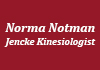 Norma Notman-Jencke Kinesiologist therapist on Natural Therapy Pages