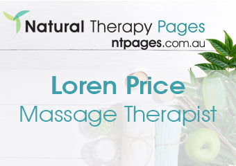 Loren Price therapist on Natural Therapy Pages
