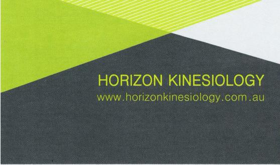 Horizon Kinesiology