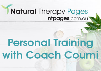 Personal Training with Coach Coumi therapist on Natural Therapy Pages