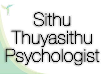 Sithu Thuyasithu Psychologist