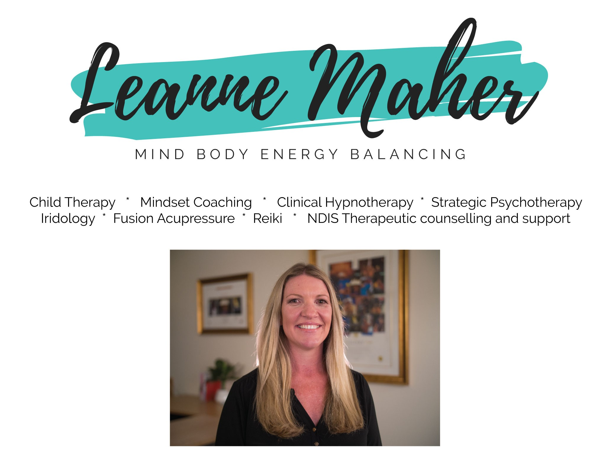 Learn Maher - mind body energy balancing
