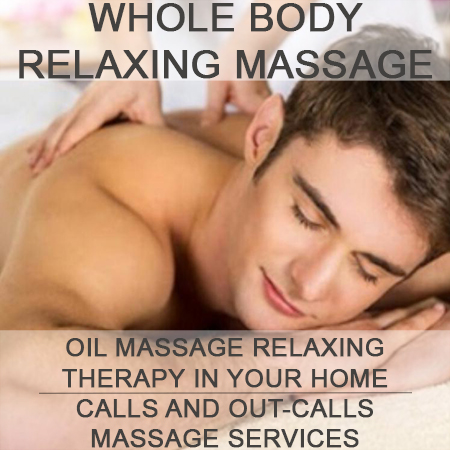 Whole Body Relaxing Massage therapist on Natural Therapy Pages