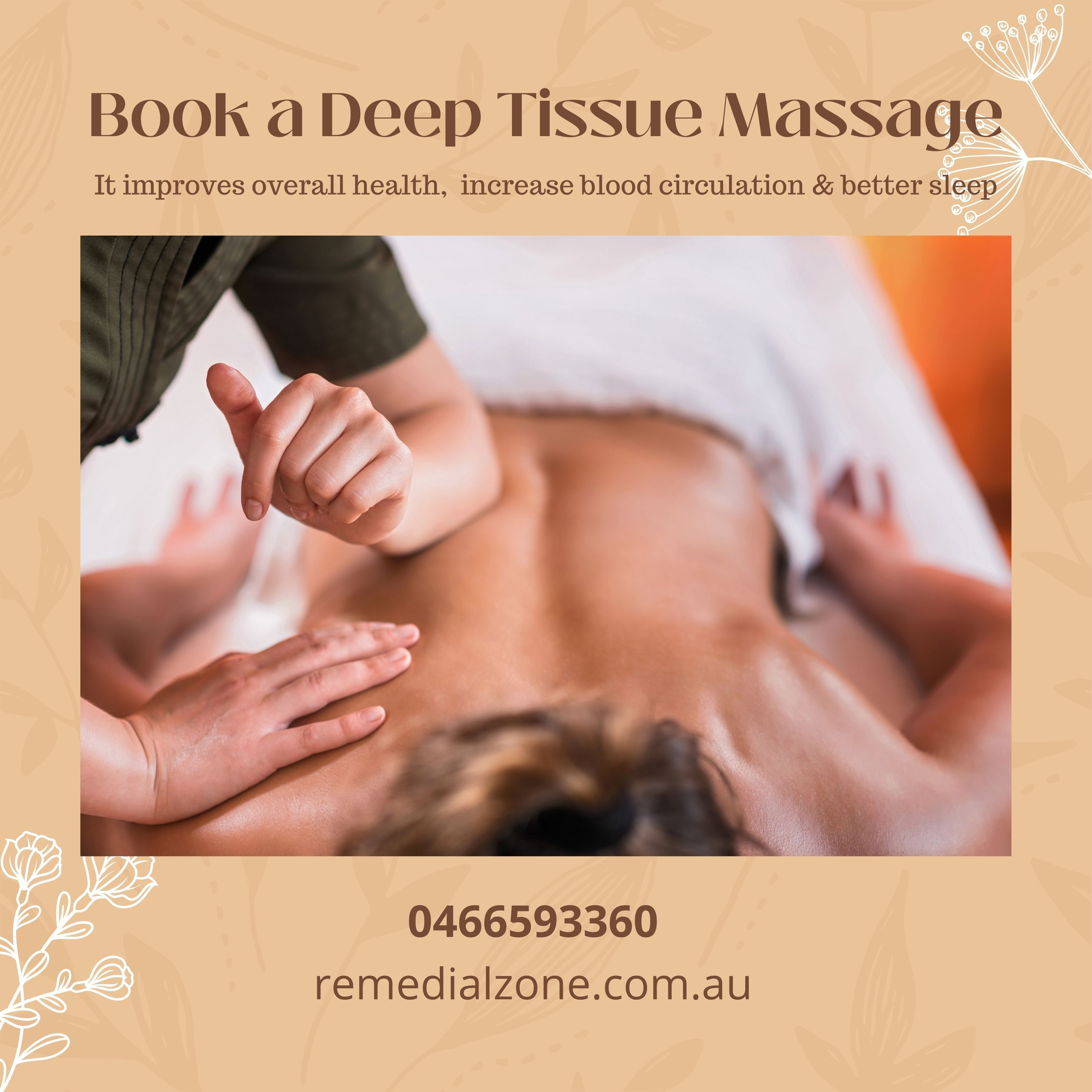Remedial Zone therapist on Natural Therapy Pages