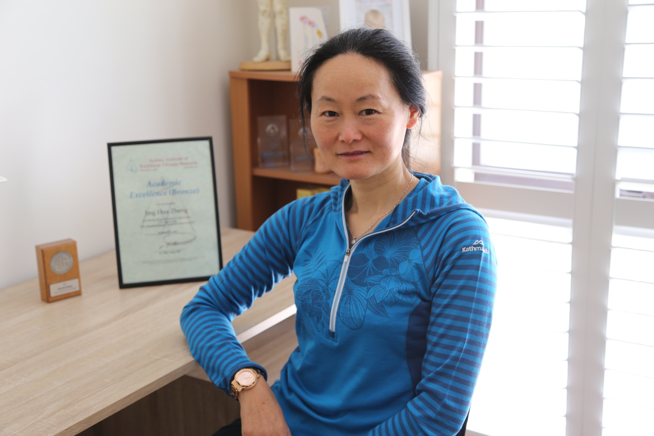 Jinghua Zheng therapist on Natural Therapy Pages