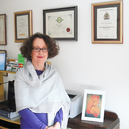 Debbie Pannowitz therapist on Natural Therapy Pages