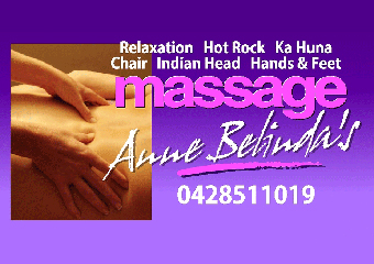 Anne Belindas therapist on Natural Therapy Pages
