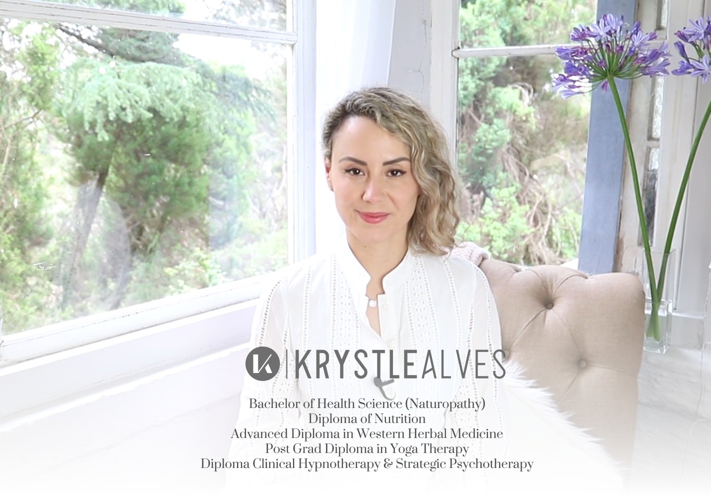 Krystle Alves therapist on Natural Therapy Pages