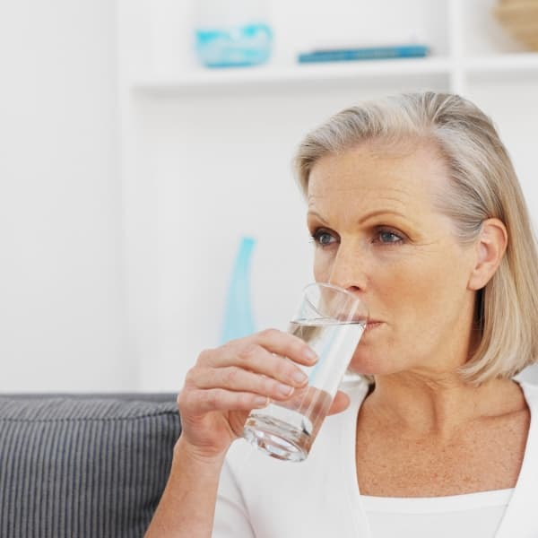 Managing inflammation with water