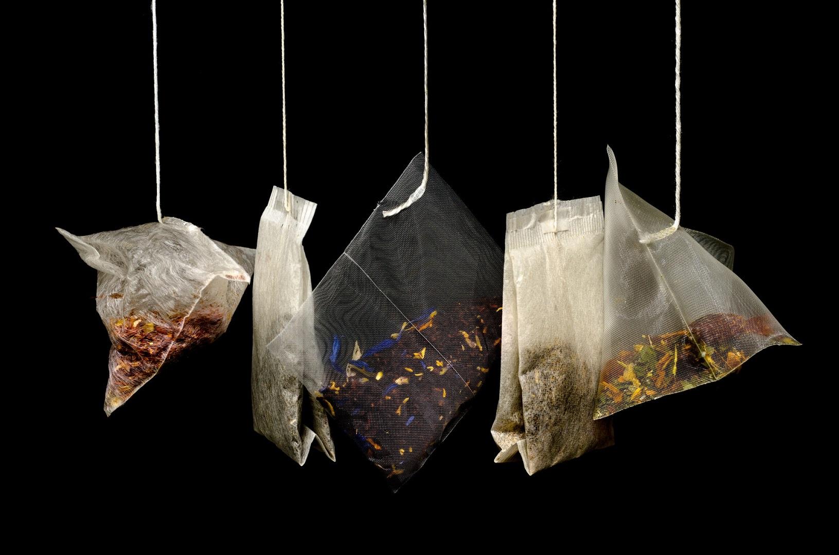 Lemon myrtle tea in tea bags
