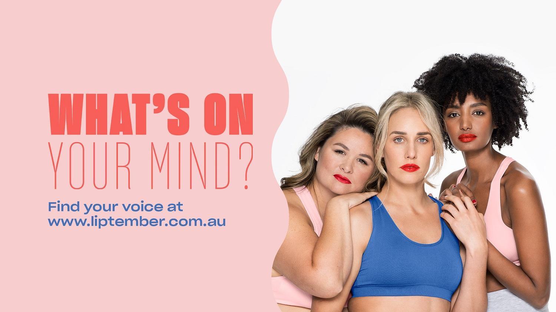 Liptember 2019 for Women's Mental Health