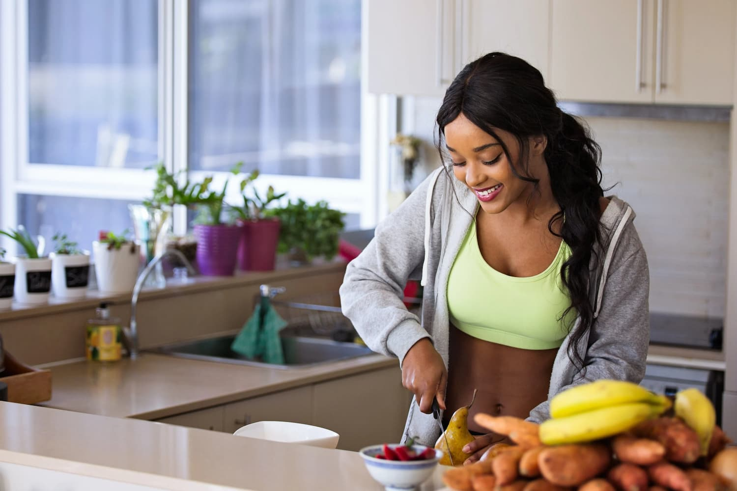 Healthy diet and regular exercise