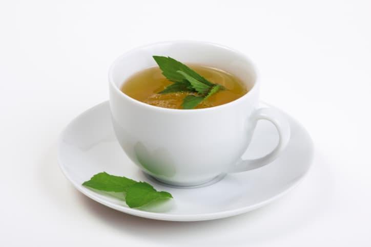 Drinking herbal teas