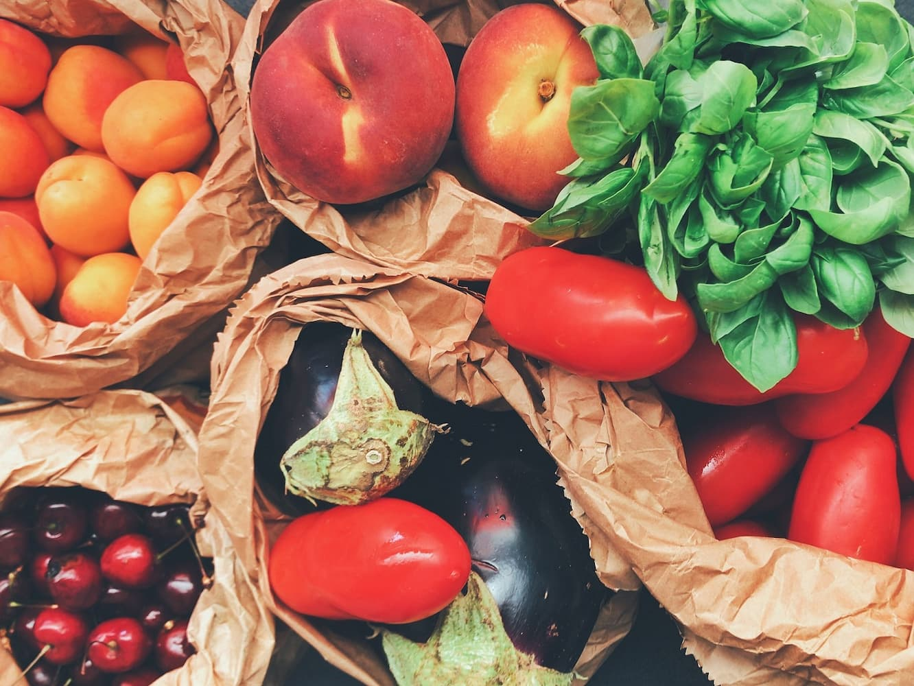 Functional foods like fruits and vegetables