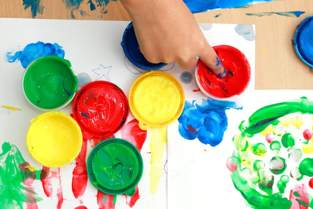 Art therapy for childhood trauma