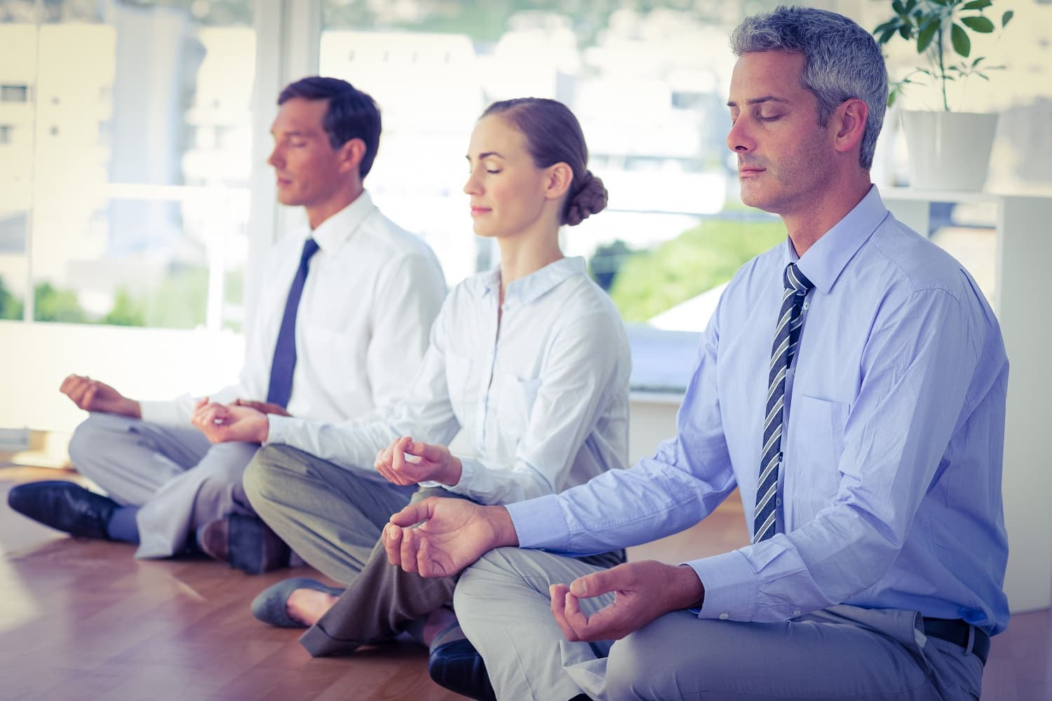 What is corporate yoga?