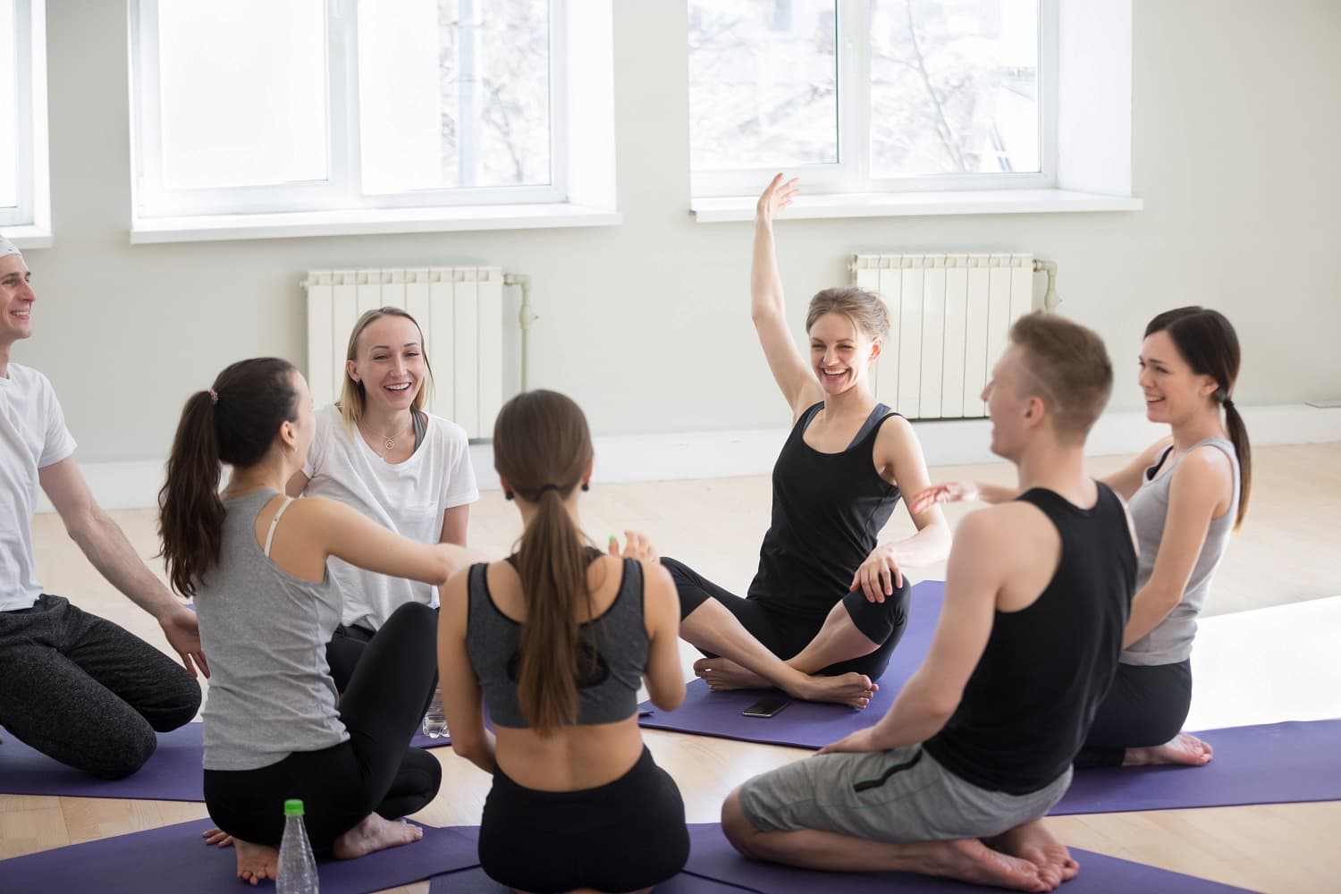 What is laughter yoga?