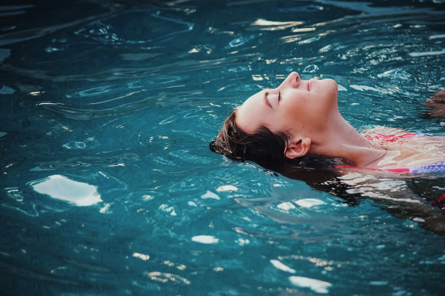 What is floatation therapy?